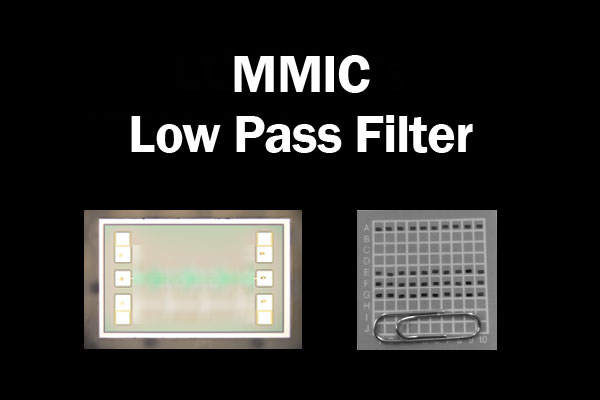 MMIC Low Pass Filter