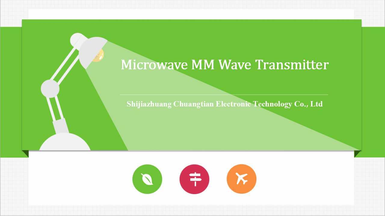 Microwave MM Wave Transmitter